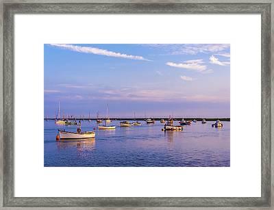 Calm Evening Framed Print by Svetlana Sewell