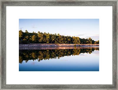 Calm Framed Print by Lee Costa