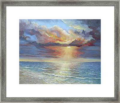 Calm Framed Print by Luczay