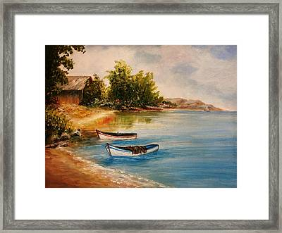 Calm Nature Framed Print by Constantinos Charalampopoulos