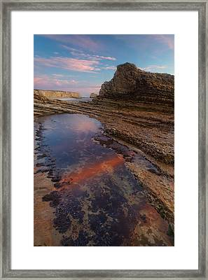 Panther Beach - Calm  Framed Print by Francesco Emanuele Carucci