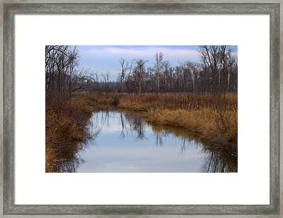 Calm Reflections Framed Print by Rhonda Humphreys