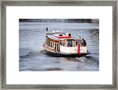 Calm River Evening Framed Print