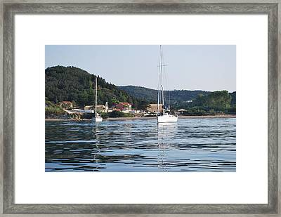 Calm Sea 2 Framed Print by George Katechis