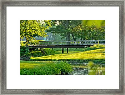 Framed Print featuring the photograph Calm Summer Night by Jim Lepard