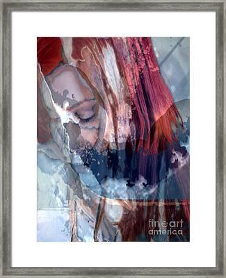 Calm Surrender Framed Print