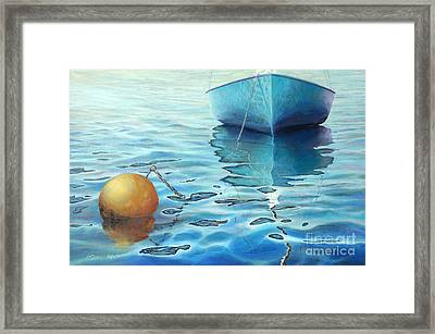 Calm Turquoise Sea Framed Print