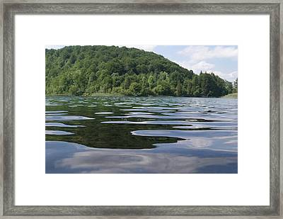 Calm Water Framed Print by Adam  S