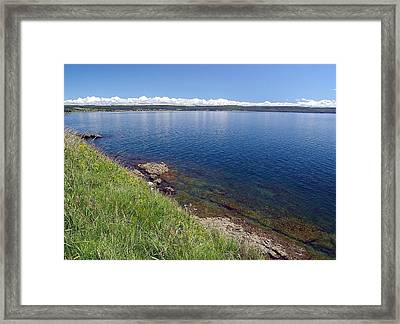 Calm Waters Framed Print by Janet Ashworth