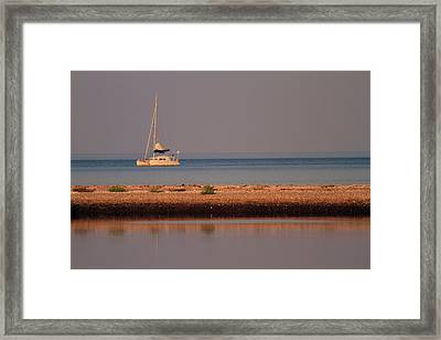 Calm Waters Framed Print by Karol Livote