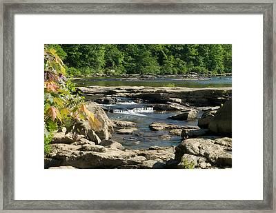 Framed Print featuring the photograph Calm Waters Wat 223 by G L Sarti