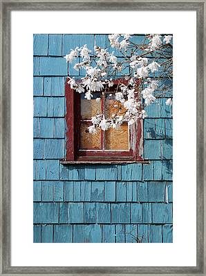 Framed Print featuring the photograph Calming by Kjirsten Collier
