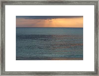 Calmness Framed Print