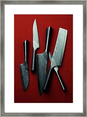 Calphalon Katana Series Knife Set Framed Print