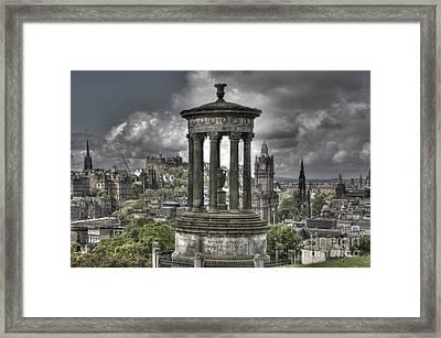 Calton Hill Framed Print by Marion Galt