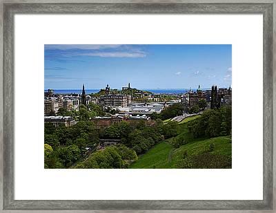 Calton Hill Framed Print