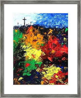 Calvary Hill Framed Print by Kume Bryant
