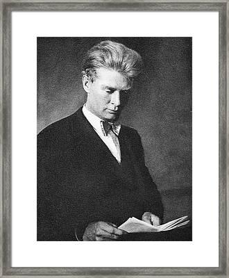 Calvin Bridges Framed Print by American Philosophical Society