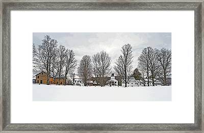 Calvin Coolidge Homestead Framed Print