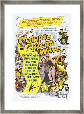 Calypso Heat Wave, Us Poster Art, The Framed Print
