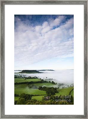 Cam Long Down Framed Print by Anne Gilbert
