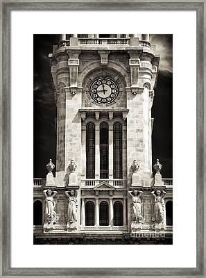 Camara Municipal Do Porto Framed Print