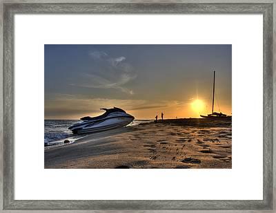 Camargue Framed Print