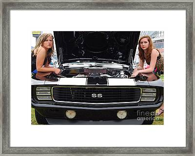 Camaro Chicks Framed Print