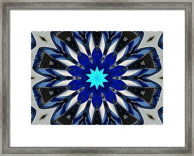 Camaro Kaleidoscope Framed Print by Victor Montgomery