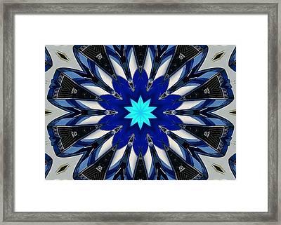 Camaro Kaleidoscope Framed Print