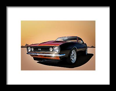 Chevy Ss Framed Prints