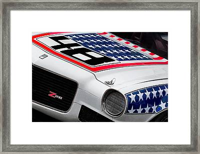 Camaro Z28 Framed Print by Bill Wakeley
