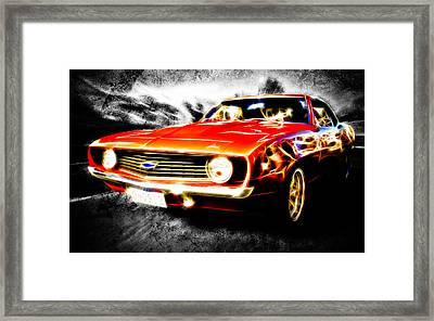 Camaro'd Framed Print by Phil 'motography' Clark