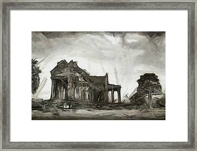 Cambodia Temple Framed Print by Teara Na