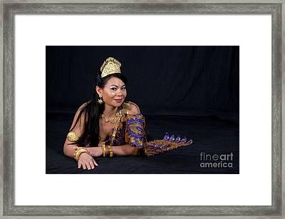 Cambodian Bride Framed Print
