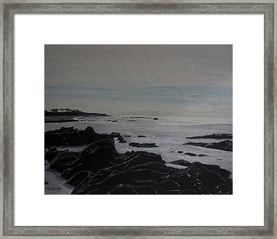 Cambria Tidal Pools Framed Print