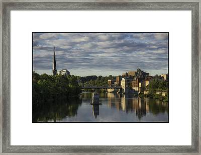 Cambridge Galt Framed Print