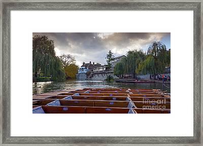 Cambridge River Framed Print by Svetlana Sewell