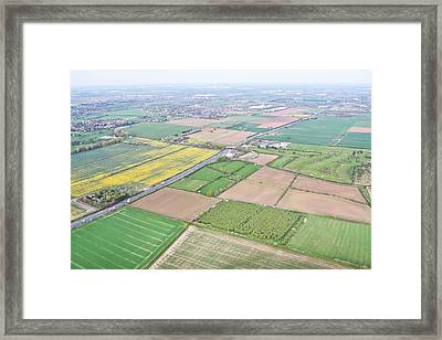 Cambridgeshire Framed Print by Tom Gowanlock