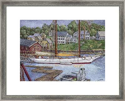 Camden Maine Framed Print