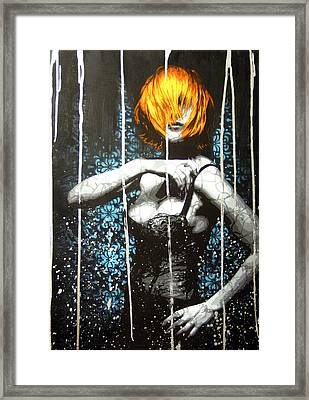 Came Back Haunted Framed Print by Bobby Zeik