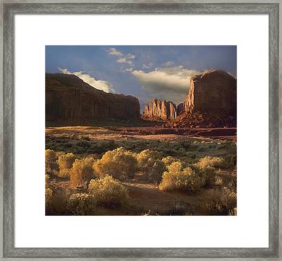 Camel Butte Framed Print by Tim Fitzharris