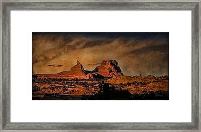 Camelback Canyon Lands Framed Print by Robert Albrecht