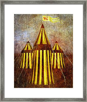 Camelot Restrained Framed Print by Bob Orsillo
