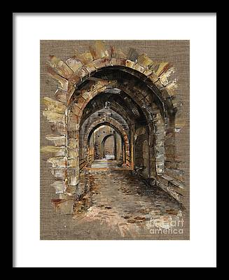 King Arthur Framed Prints