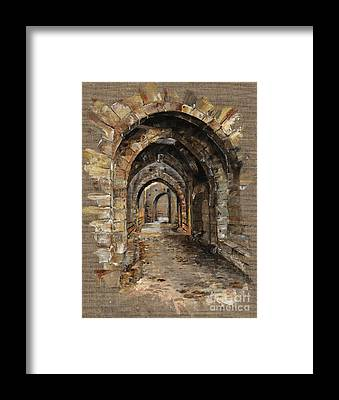 Brick Framed Prints