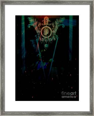 Cameo Framed Print