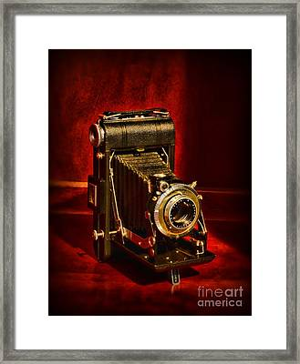 Camera - Eastman Kodak Folding Camera Framed Print