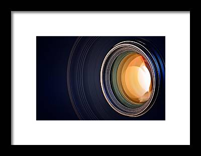 Lens Framed Prints