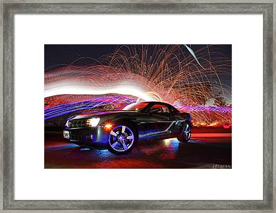 Camero Rs Framed Print